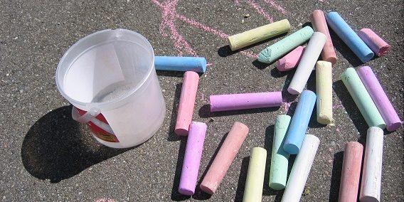 street-chalk